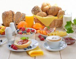 Desayuno nutritivo para la familia