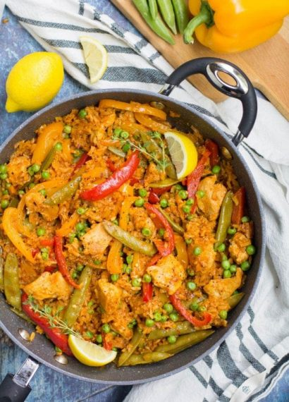 Paella saludale one pan