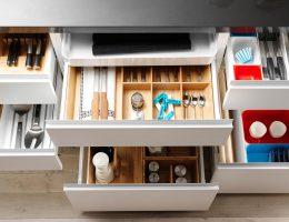 Ideas elegantes para la organización de la cocina