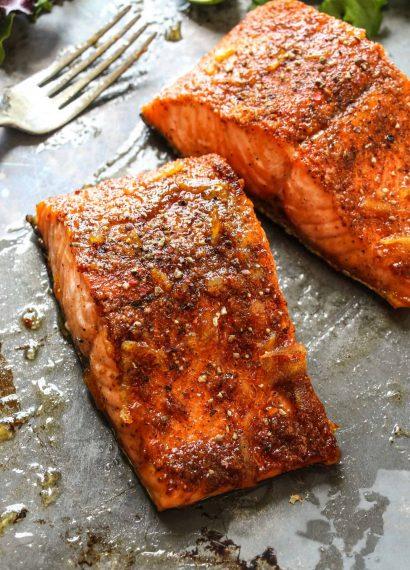 """""""salmón cajún"""""""