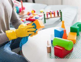 Cómo limpiar y desinfectar juguetes